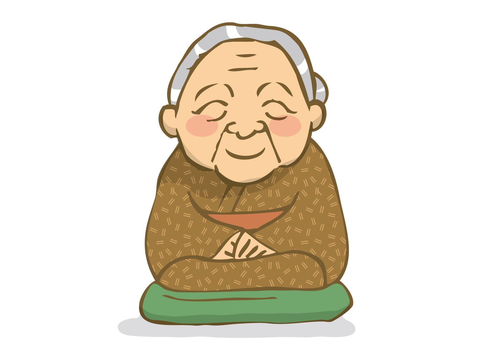 長寿のおばあさん